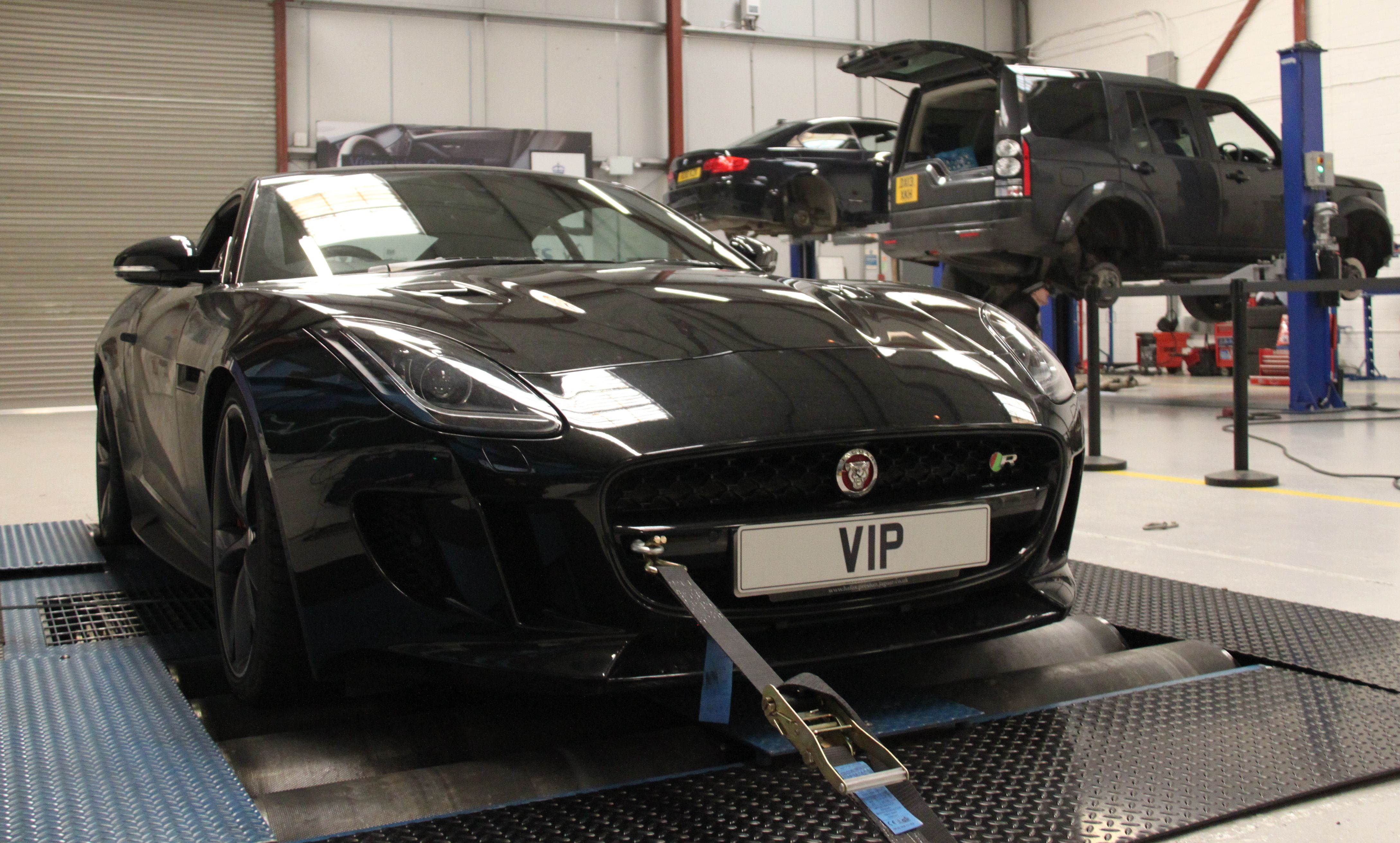 Jaguar f type tuning and jaguar f type remap tuning ecu remapping