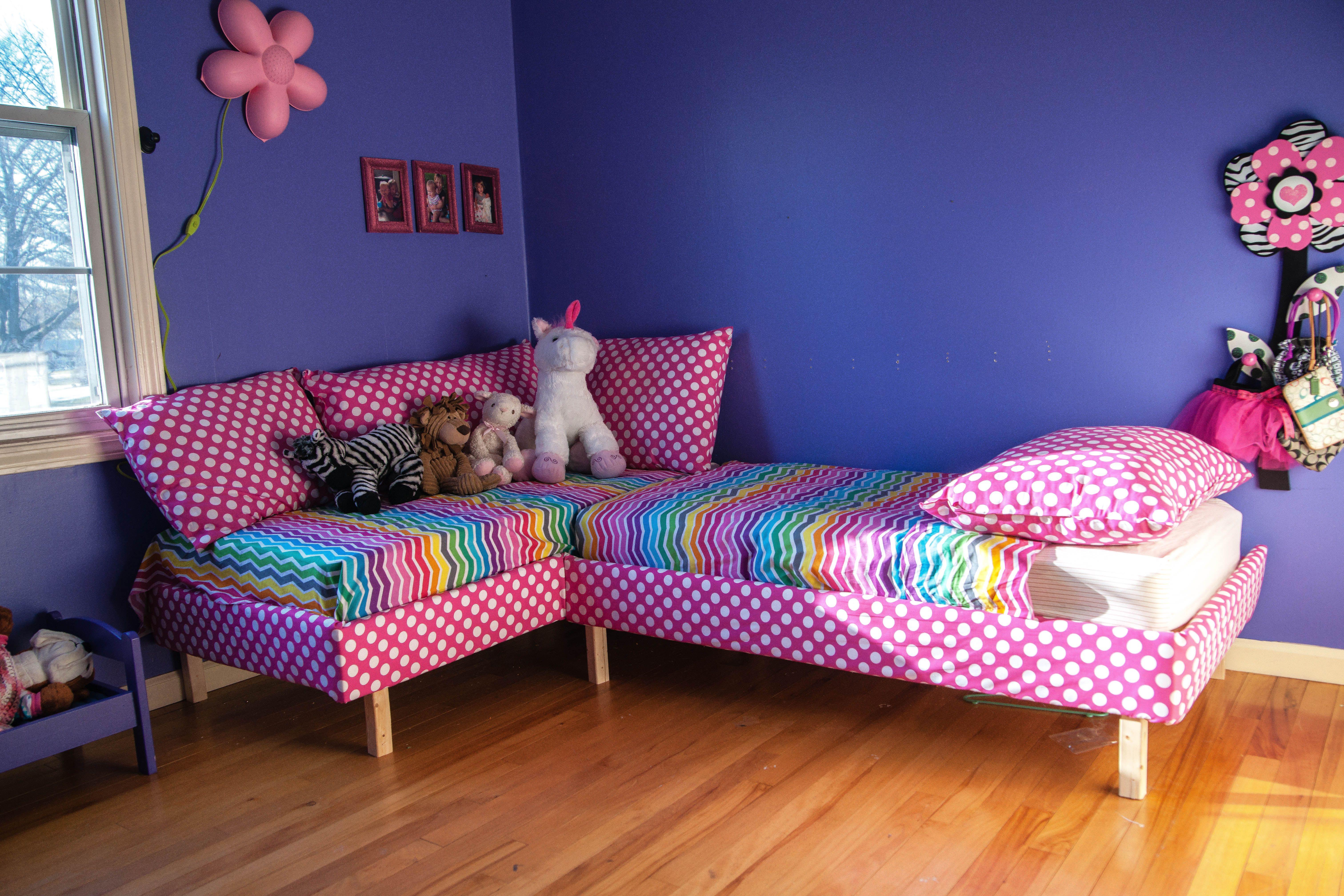 Sofa Bed For Child Leather Seat Repair Crib Mattress Kids Pinterest