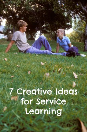 Creative community service ideas?
