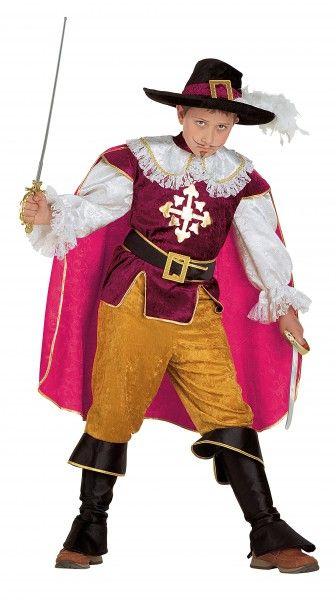 Musketierkostüm Musketeer Kostüm Ritterkostüm