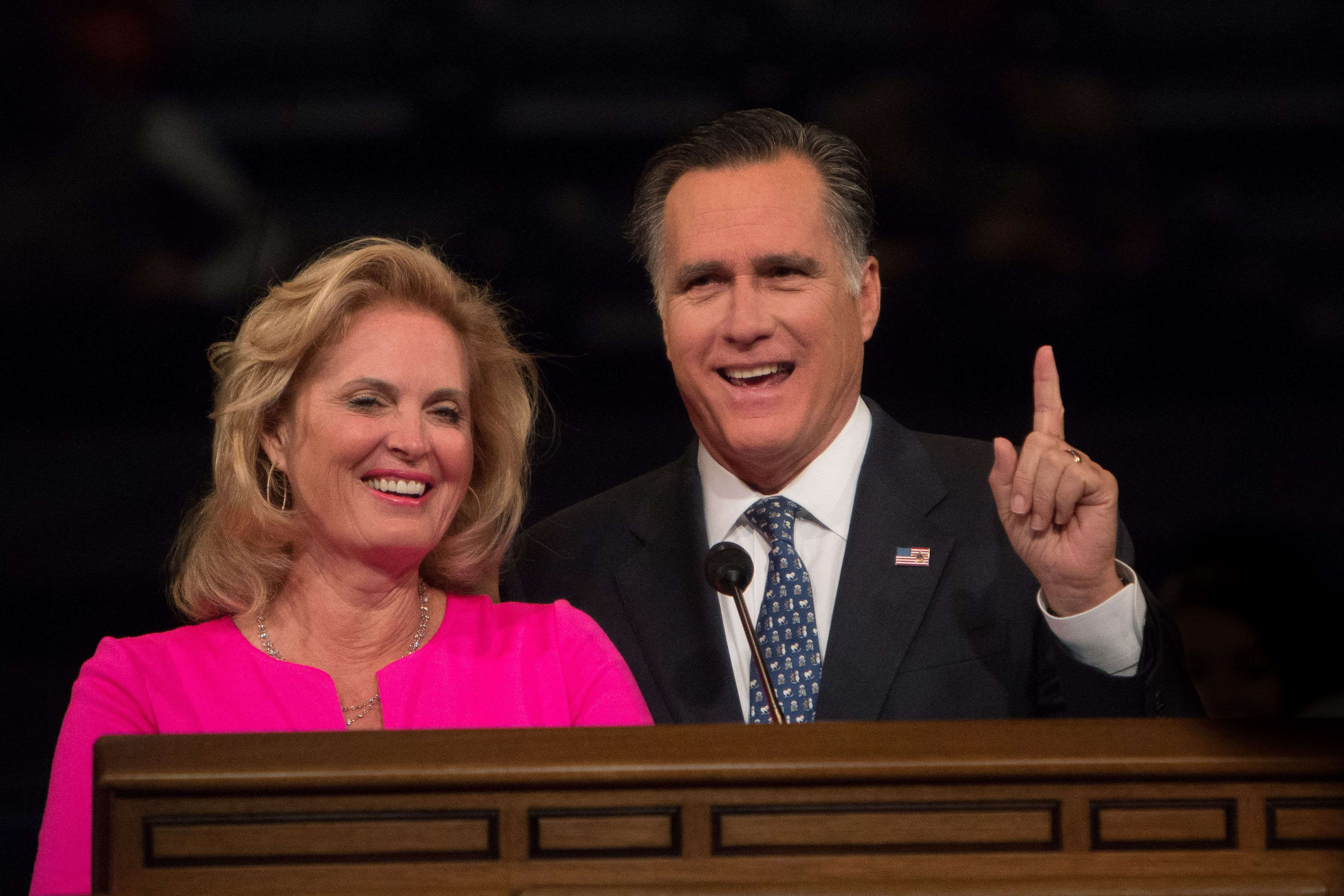 BYU's Daily Universe reports on Mitt Romney at BYU: 'Life lessons from the front'