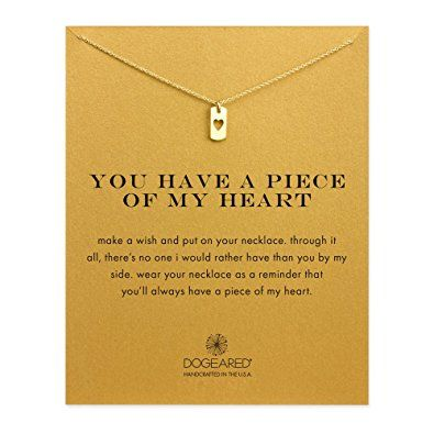 Dogeared Good Luck Gold Plated Elephant Reminder Necklace 45.72cm 9YVYp