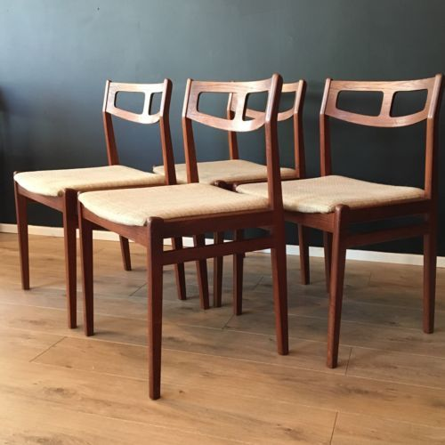 Vintage #danish #dining chairs #johannes andersen style 1960's mid century,  View more on the LINK: 	http://www.zeppy.io/product/gb/2/262584885766/