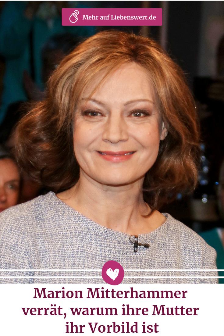 Marion Mitterhammer Meine Mutter Ist Mein Vorbild Vorbilder Mutter Schauspieler
