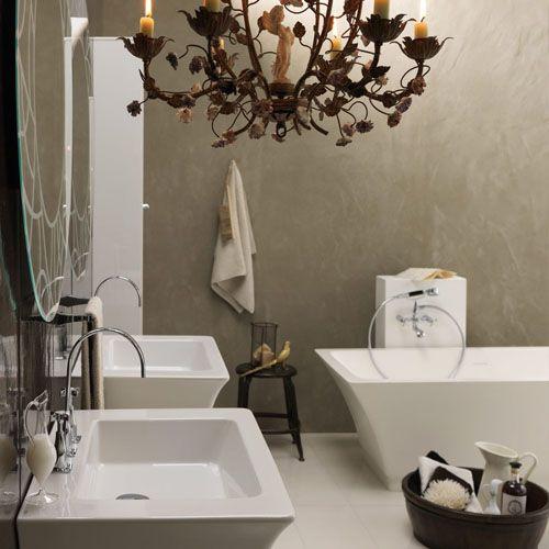 Cuarto de ba o estilo vintage minimalista tarima en Cuartos de bano pinterest