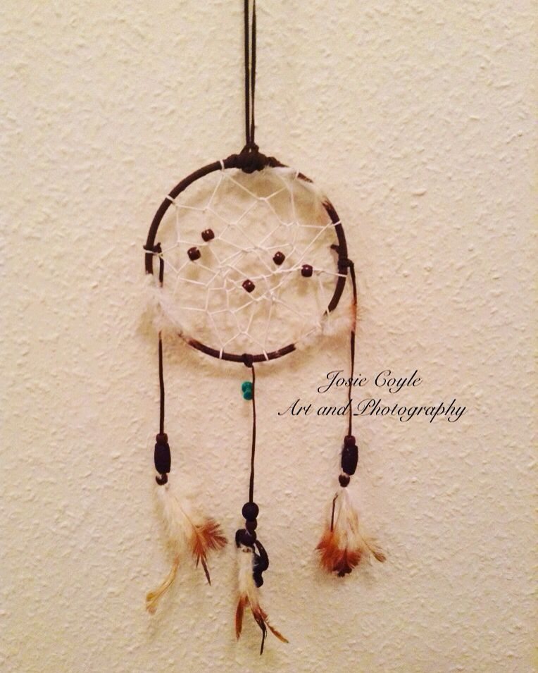 Work By Josie Coyle Made This Super Cute Dream Catcher From A Kit Gorgeous Dream Catcher Works