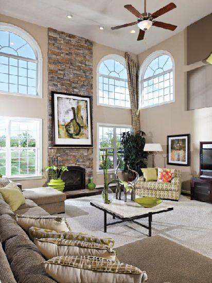 K. Hovnanian Homes - New Homes Guide | 2 Story Family Room ...