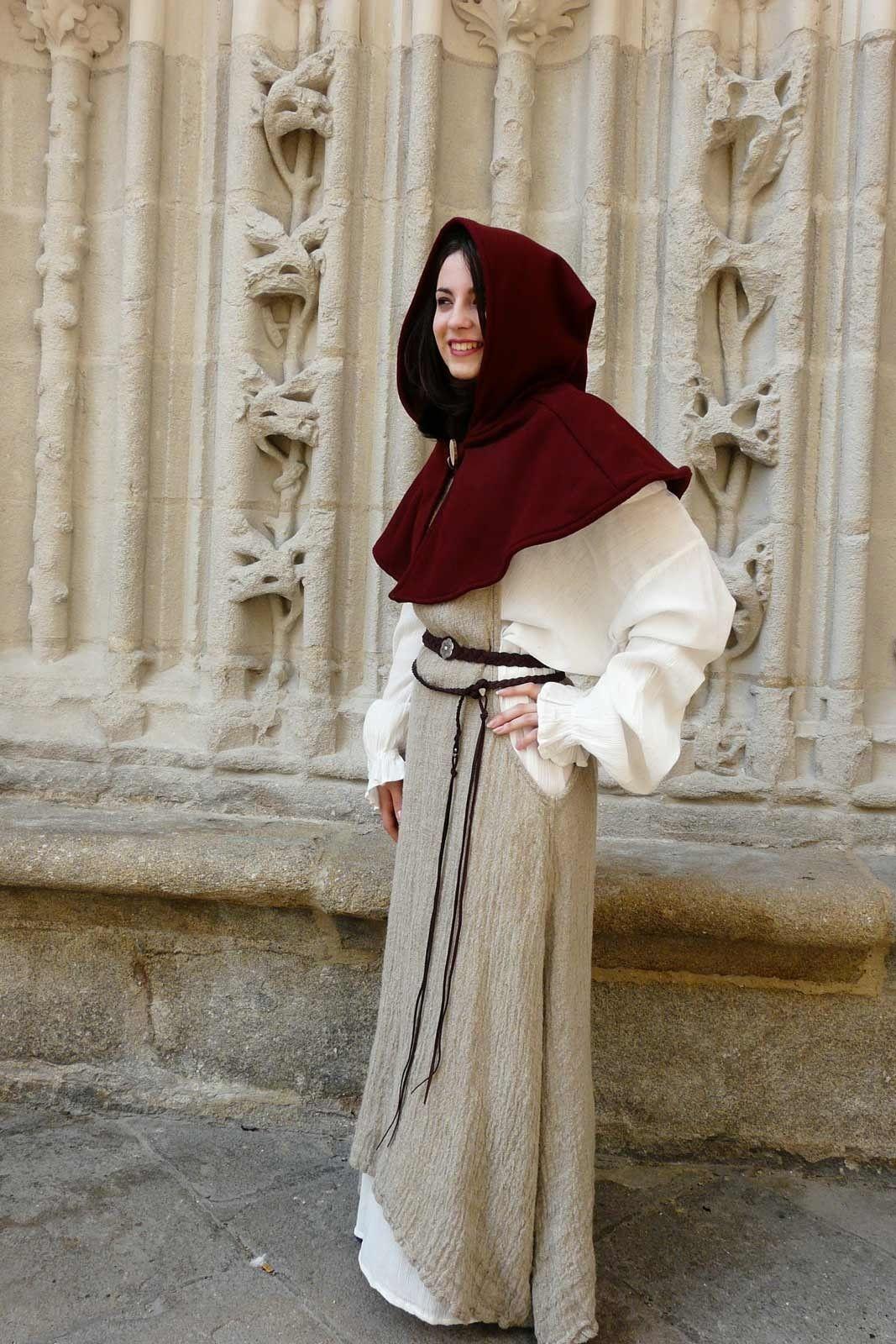Populaire Vêtement moyen age – Chaperon - Boutique médiévale Comptoir du  JJ26