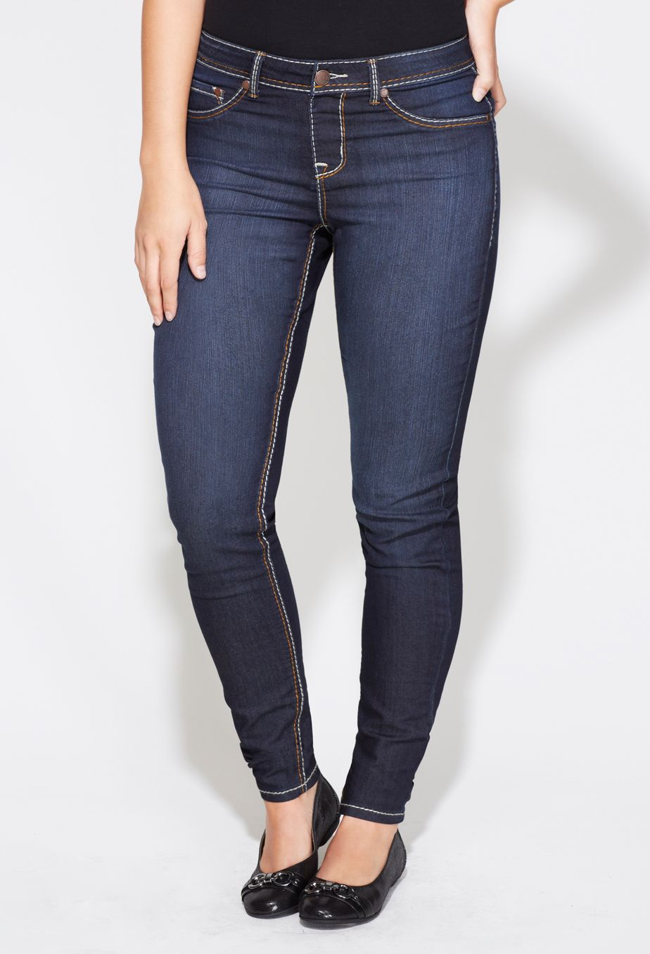 758aa4fe653 Plus Size Tall Virtual Stretch™ Pull-On Jegging  35