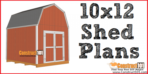 Shed Plans 10x12 Gambrel Shed Construct101 10x12 Shed Plans 10x12 Shed Planter Box Plans