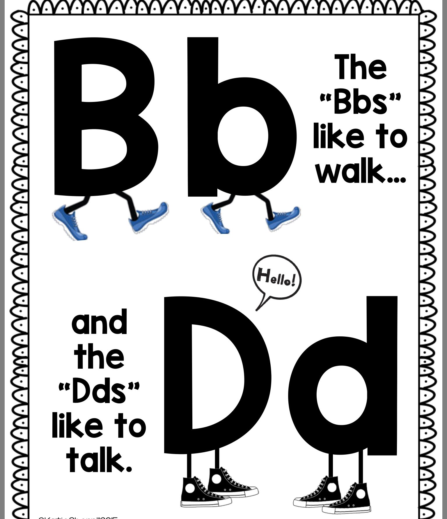 Pin By Andrea Woolley On Letter Reversals With Images