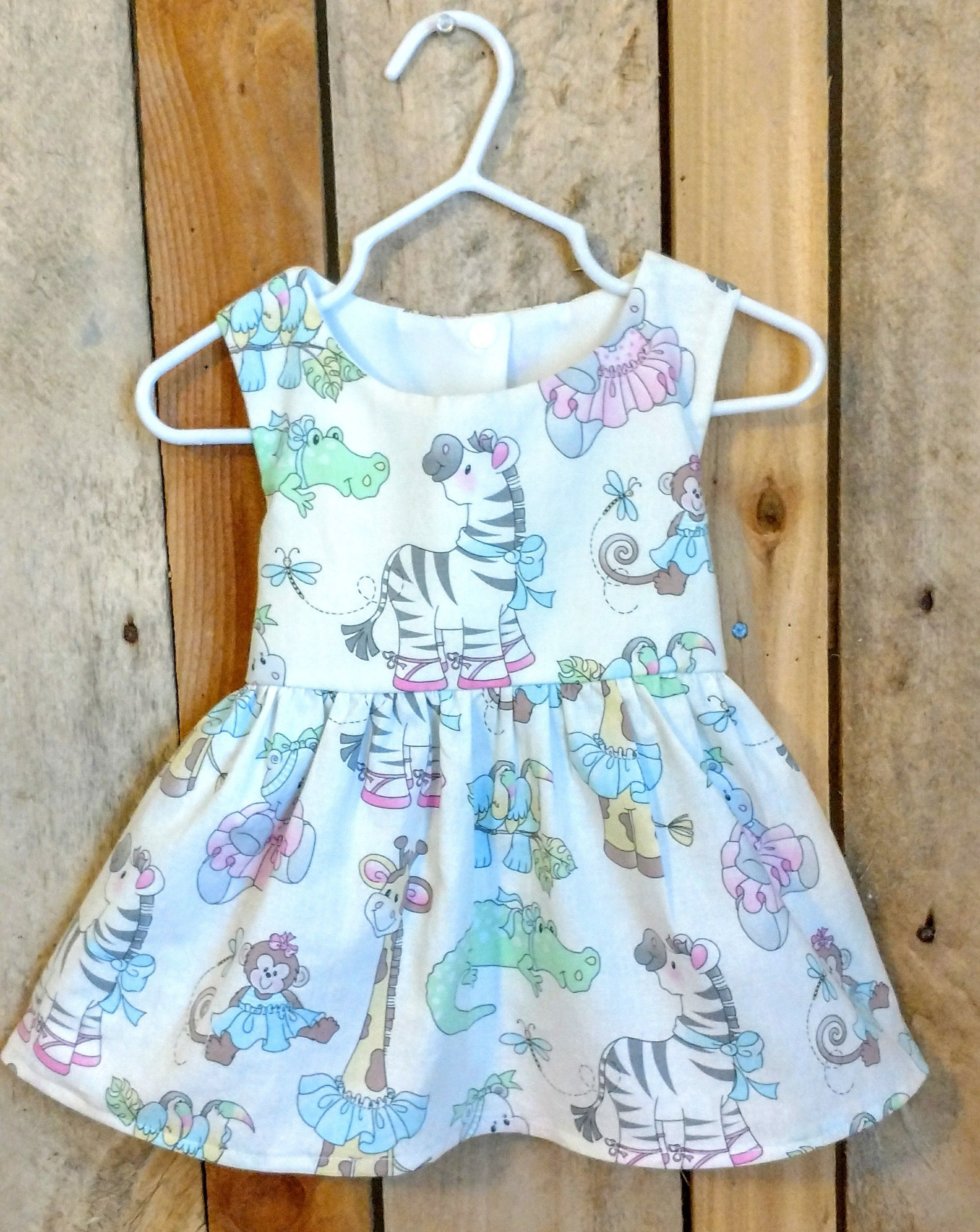 Zebra dress, zoo dress, zoo themed party, zoo first birthday dress ...