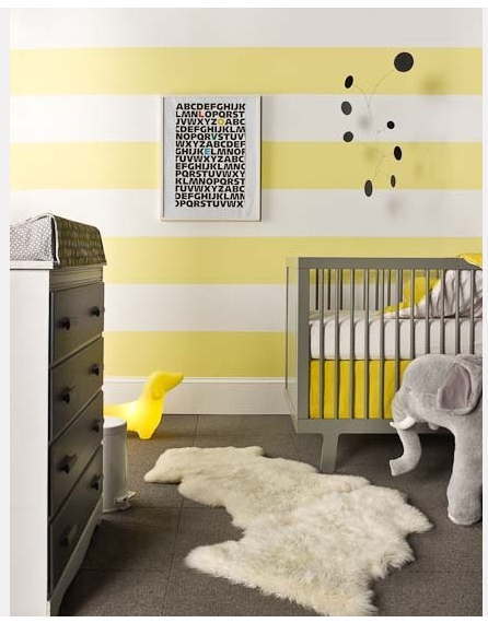 1000 images about chambre bb neutre grise jaune on pinterest - Decoration Chambre Bebe Jaune