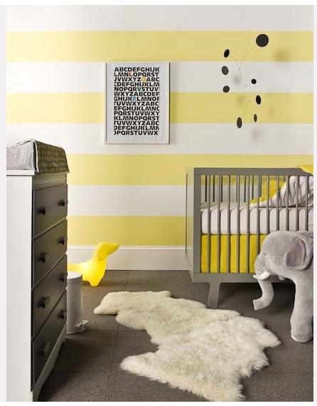 Un nouveau regard: Chambre enfant : une touche de jaune! | chambre ...