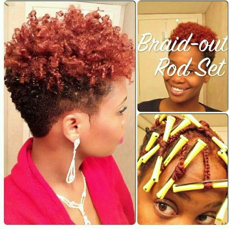 Braid Out With Rods Cydney Bee Pinterest Hair Style Natural