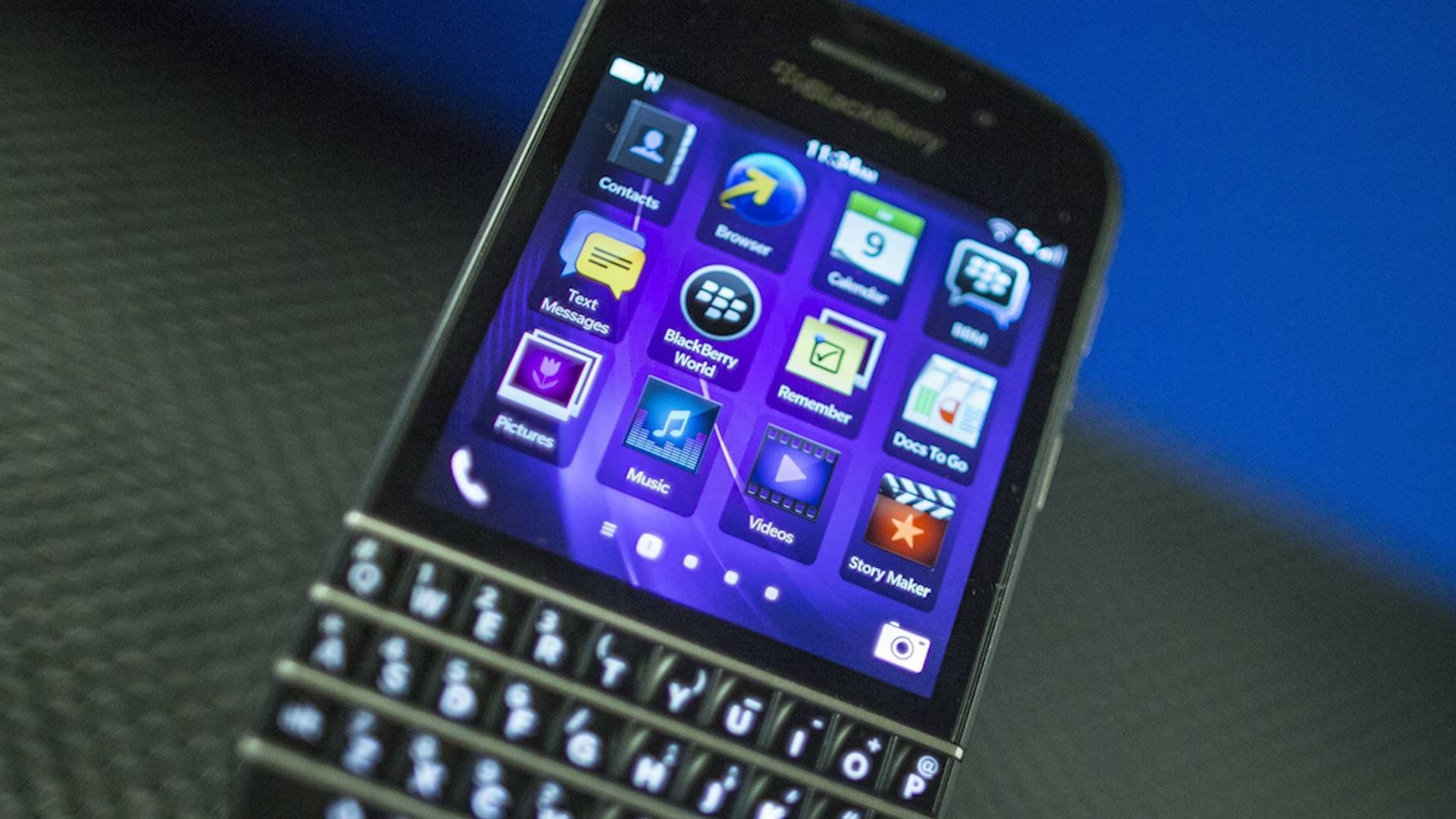 I spoke with BlackBerry shareholders about the company's