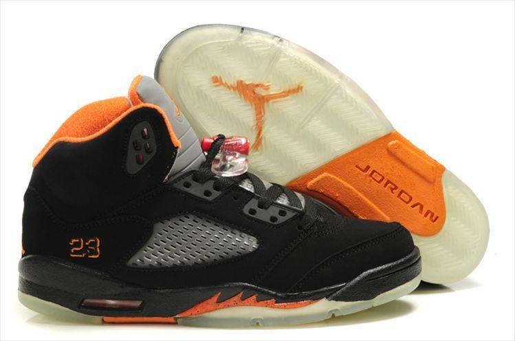 Air Jordan 5 Retro Black Orange!$68.90USD
