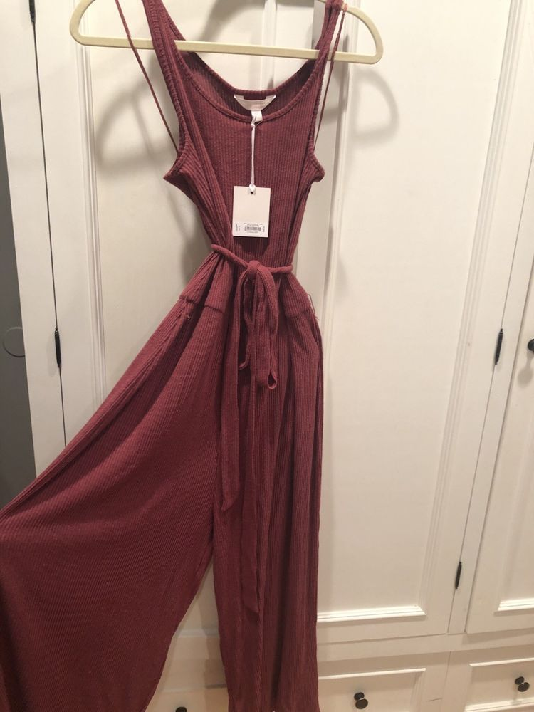 313638869c5 Lauren Conrad XL Jumpsuit Dusty Rose Color. Never Worn With Tags. Cozy   fashion
