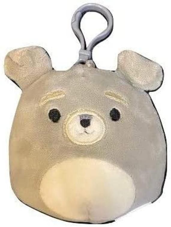 Squishmallow 3.5 Inch Dogs Collection Stuffed Plush Toy, Kellytoy