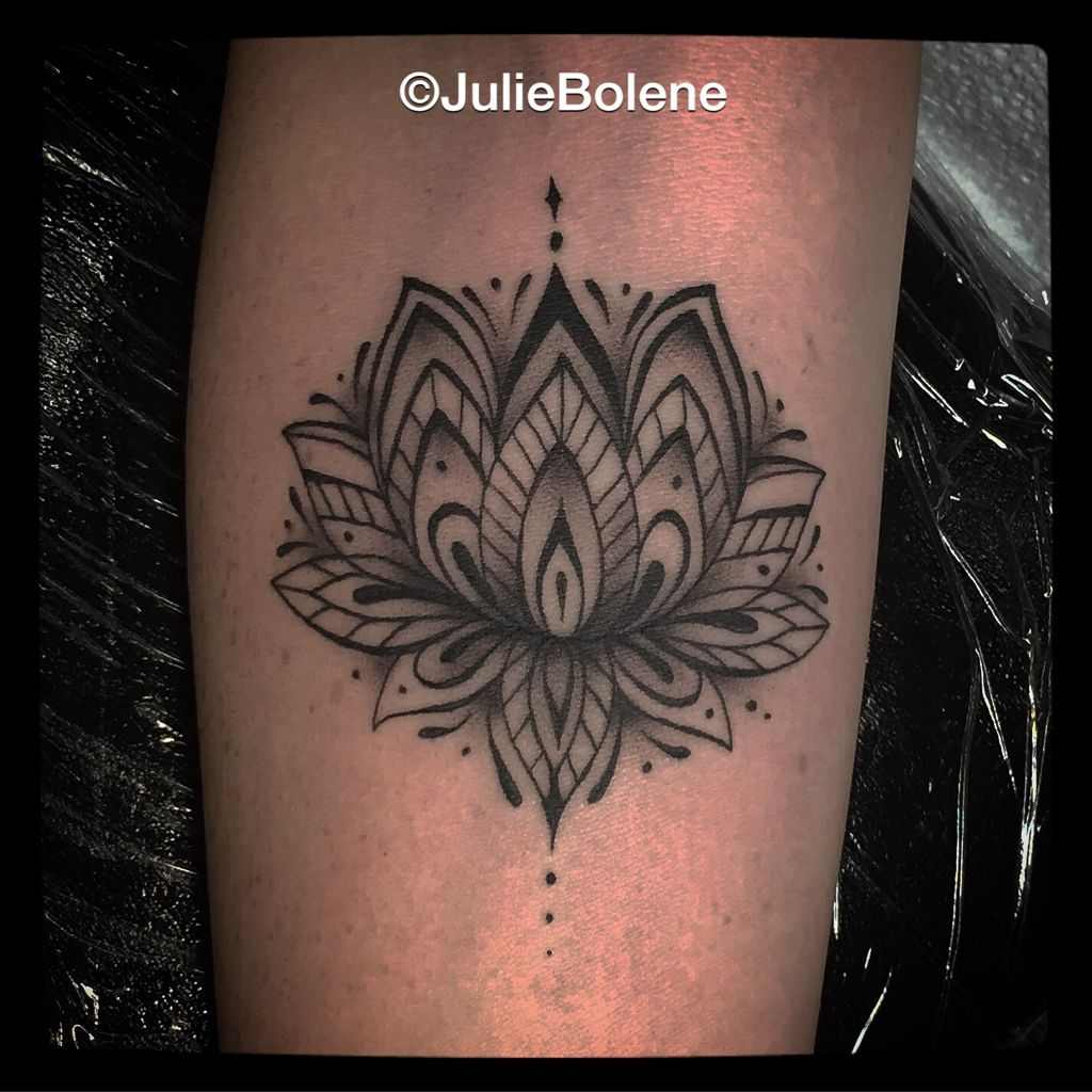 Lotus mandala tattoo by julie bolene tattoos by julie bolene lotus mandala tattoo by julie bolene izmirmasajfo