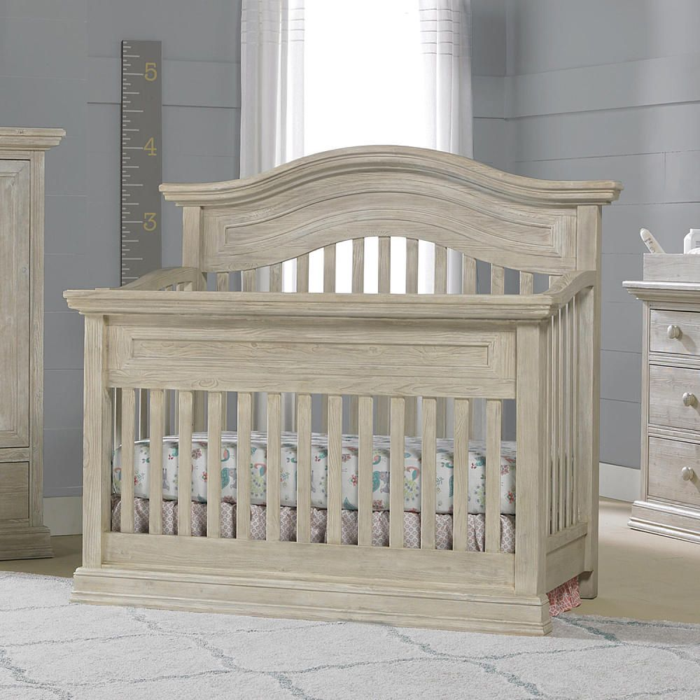 Video Review for Cosi Bella Luciano Convertible Crib in White Washed ...