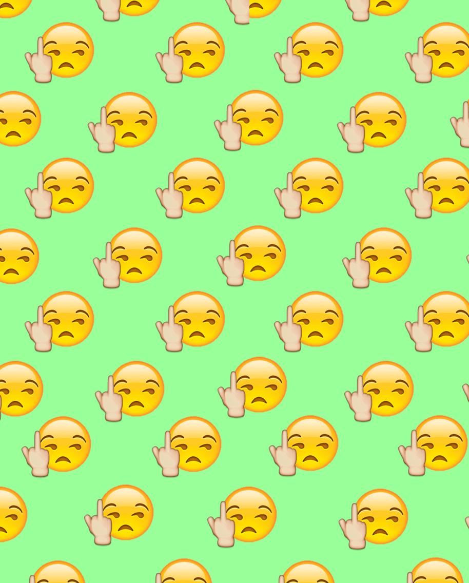Fuck You Emoji Wallpaper Descargalo Ya En Wallpapersaa Blogspot Com Download Now