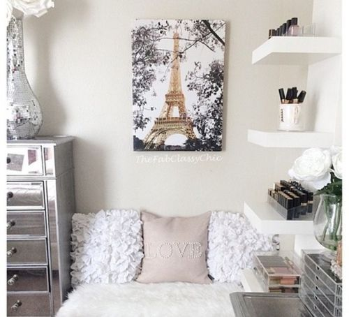 Imagem de paris, room, and bedroom