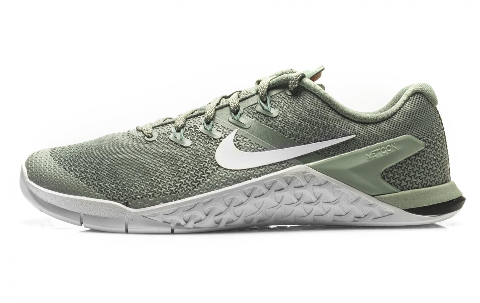 Ewell articulo Propio  Nike Metcon 4 - Men's - Clay Green / White-Mica Green | Rogue Fitness | Nike  metcon, Crossfit shoes, Cross training shoes