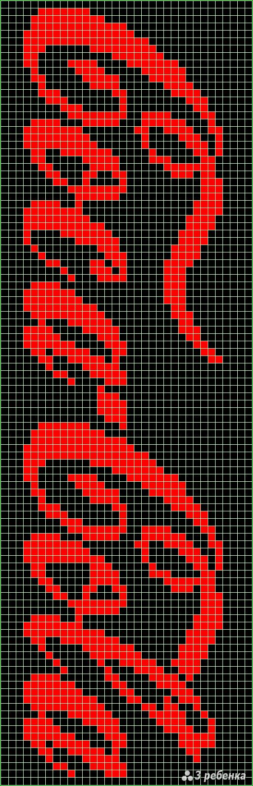 Картинки фенечек схемы прямого плетения