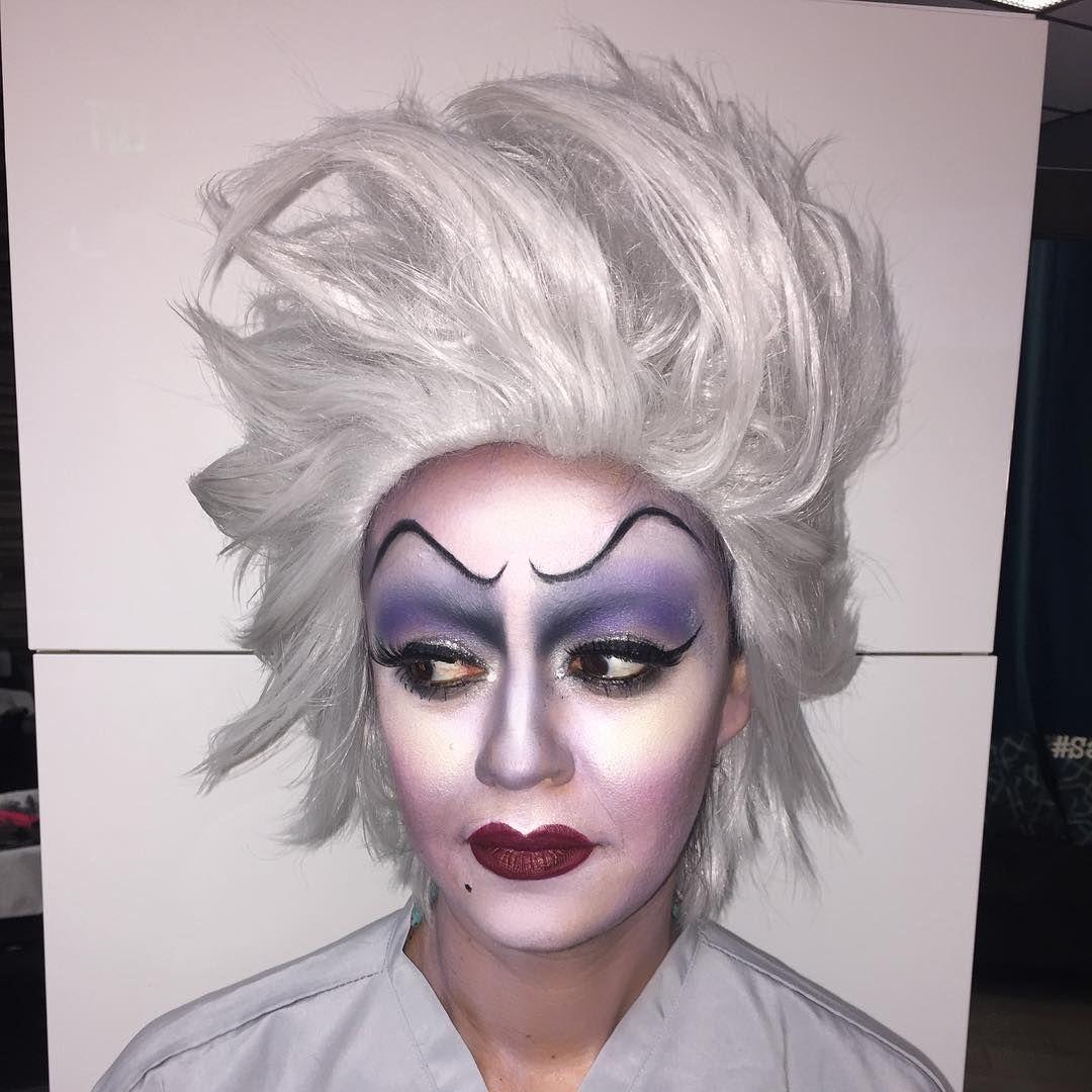 Ursula Makeup by Vero1971 in 2020 Ursula makeup, Makeup