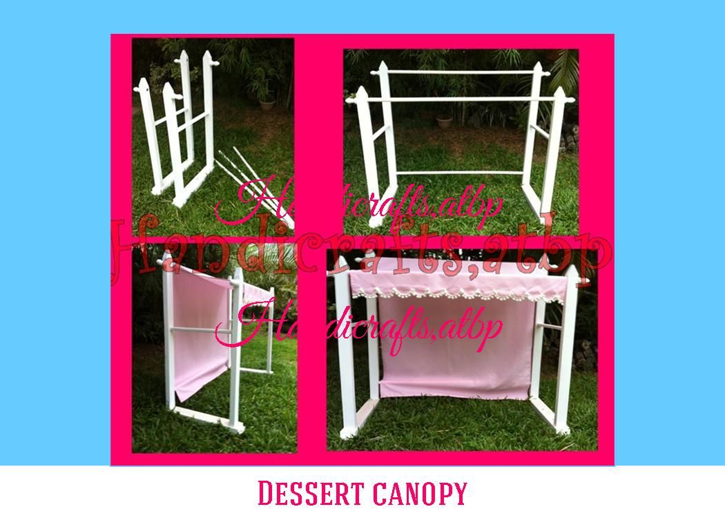 dessert canopy | Handicrafts Atbp  sc 1 st  Pinterest & dessert canopy | Handicrafts Atbp | Candy Bar tables | Pinterest ...