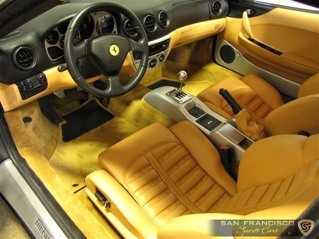 2001 Ferrari 360 Modena Black With Yellow And Grey Interior Custom