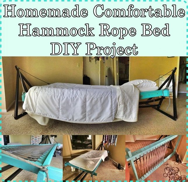 homemade  fortable hammock rope bed diy project homesteading   the homestead survival    homemade  fortable hammock rope bed diy project homesteading      rh   pinterest