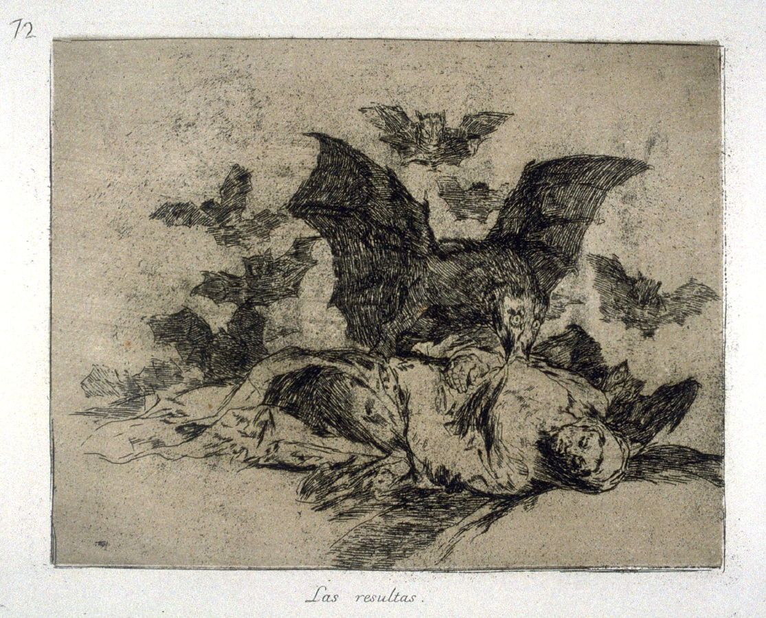Las resultas (The Consequences), pl. 72 from the series Los desastres de la guerra (The Disasters of War) Francisco José de Goya y Lucientes ca. 1810–1820