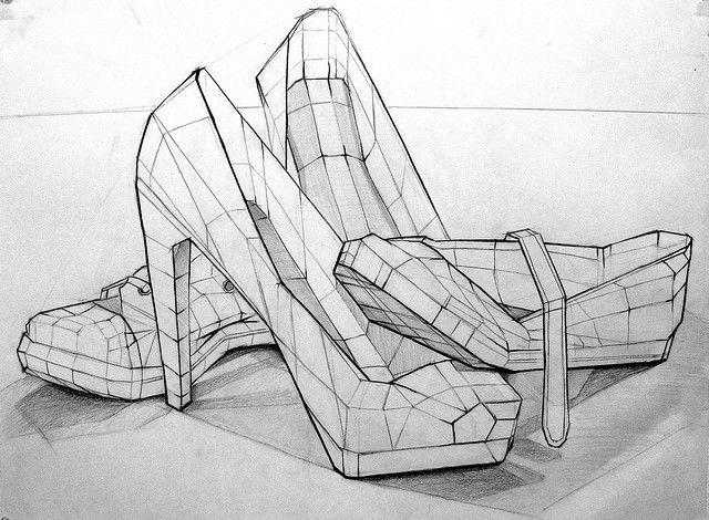 Contour Line Drawing Lesson Plan : Image result for shape contour drawing art fundamentals