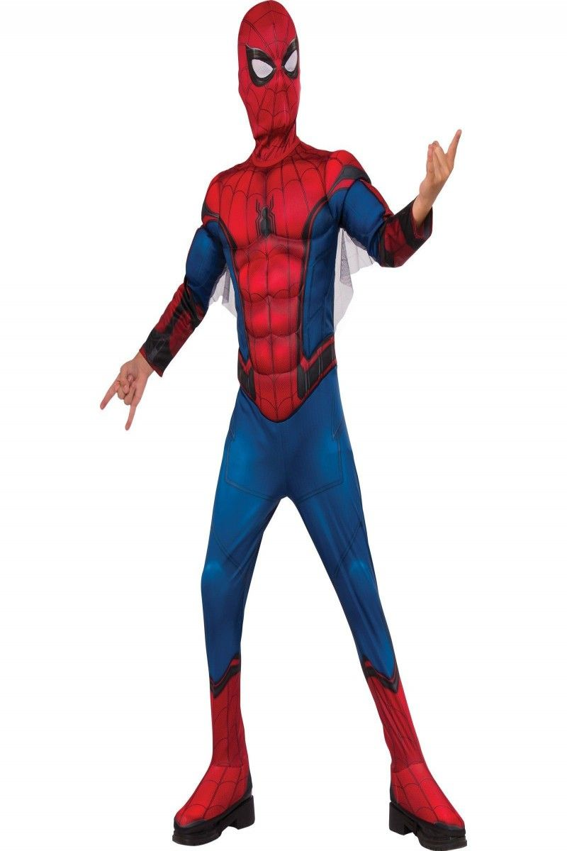 Spiderman Homecoming Muscle Child/'s Costume Large 12-14
