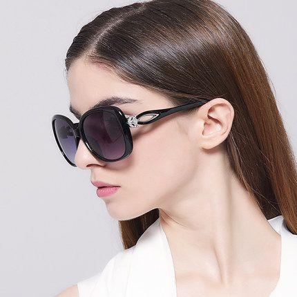 필자 도매 2016 럭셔리 여성 선글라스 패션 라운드 여성 빈티지 브랜드 디자이너 대형 여성 스포츠 태양 안경 KD9556