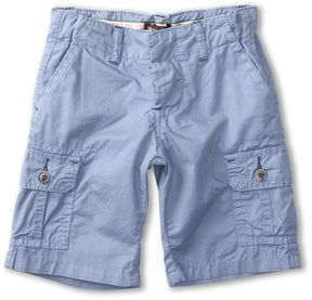 Roberto Cavalli Kids - Y86099 Y2640 Cargo Shorts (Big Kids) (Light Blue) - Apparel
