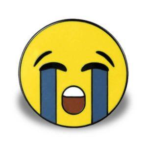 weinender Emoticon