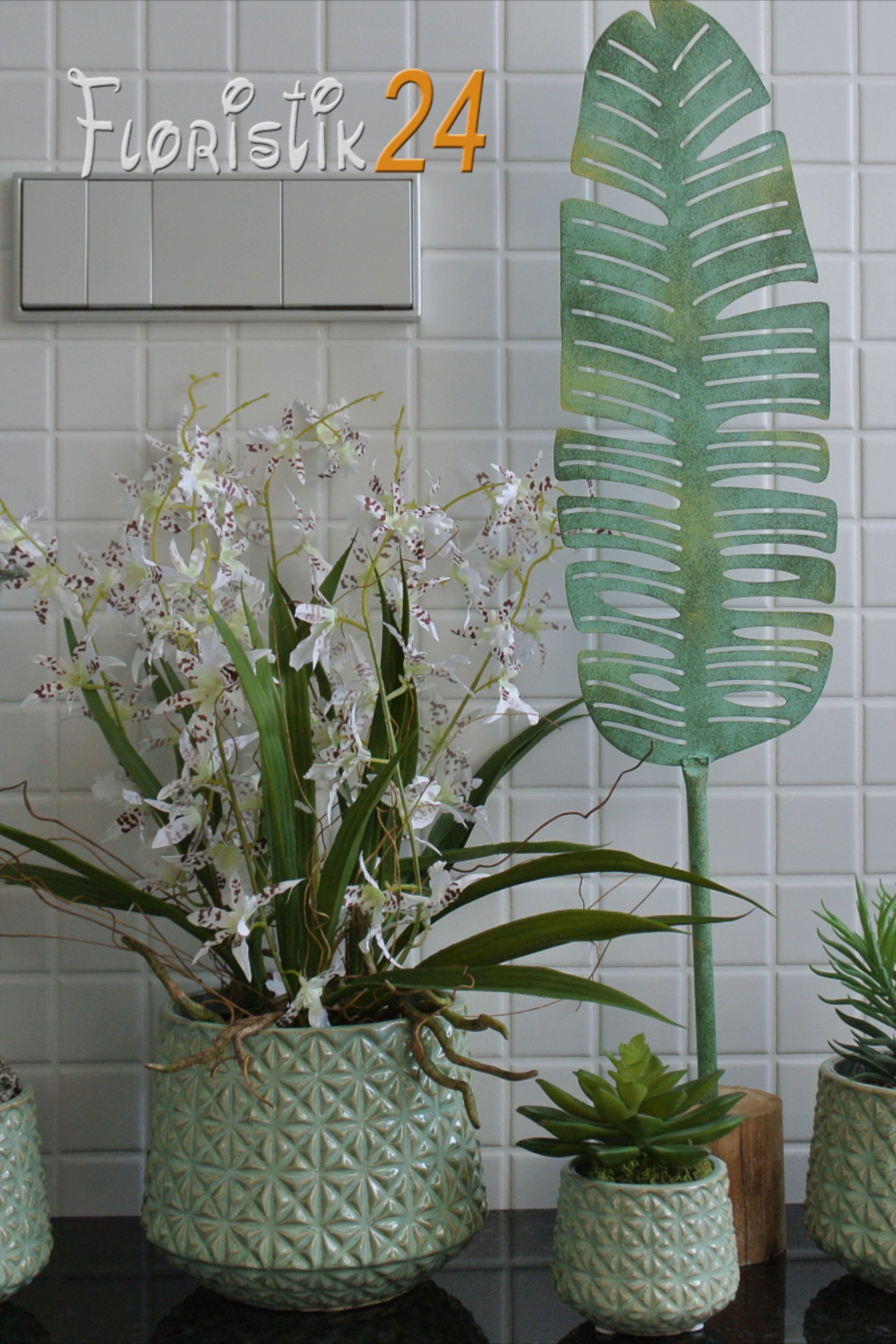 Bad Deko badezimmer Pflanzen Zimmerpflanzen Urban Jungle