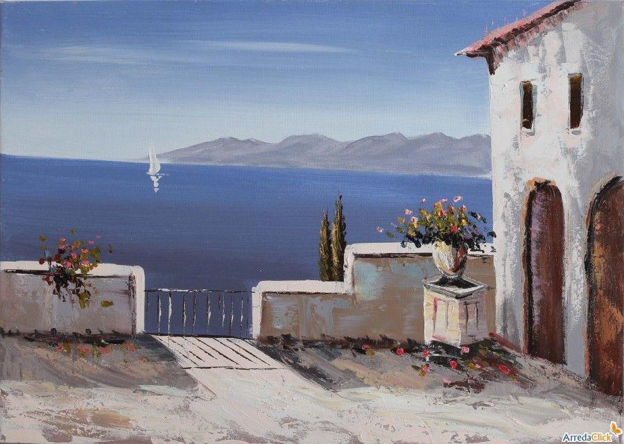 Dipinti di paesaggi a olio quadri paesaggi marini for Paesaggi marini dipinti