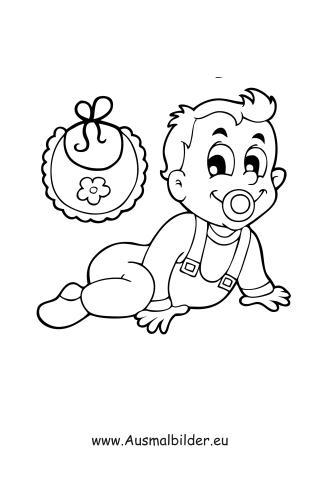 Ausmalbild Krabbelndes Baby Zum Kostenlosen Ausdrucken Und Ausmalen Ausmalbilder Malvorlagen Kindergarten Grund Krabbeln Baby Ausmalen Ausmalbilder