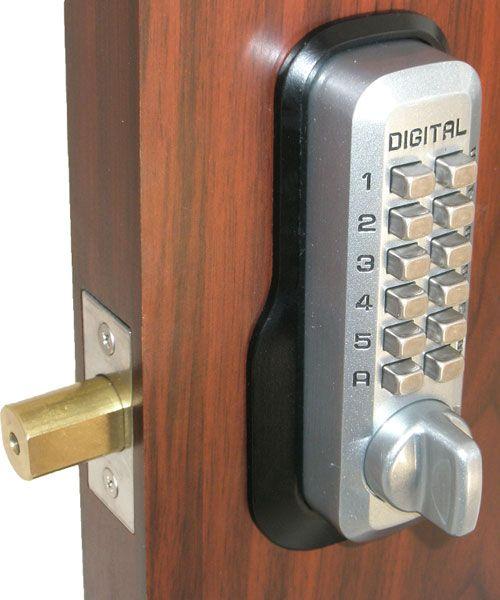 Keyless Gate Lock Lockey M210 Deadbolt Single Sided Mechanical Keyless Deadbolt Deadbolt Keyless Door Lock