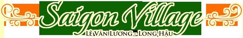 【PHÂN TÍCH】dự án Đất nền Saigon Village tại Long Hậu Long An