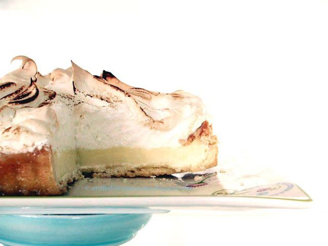 Arabafelice in cucina!: Mile-High Meringue Lemon Pie