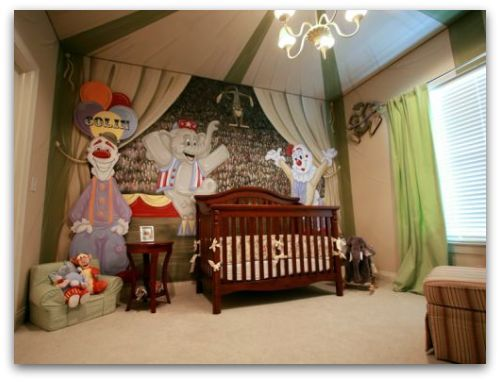 Explore Theme Bedrooms, Themed Rooms, And More! Circus Inspired ... Idea