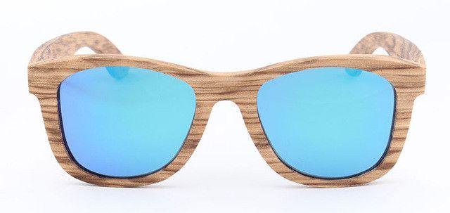 POP AGE UV400 Polarized Sunglasses Men Retro Driving Wooden Sun Glasses for Men Polarized Retro Eyewear 2017 Vintage GB001