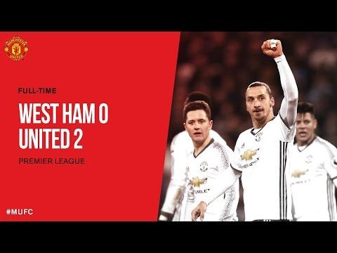 West Ham Vs Manchester United 0 2 All Goals And Extended Highlights Hd 0