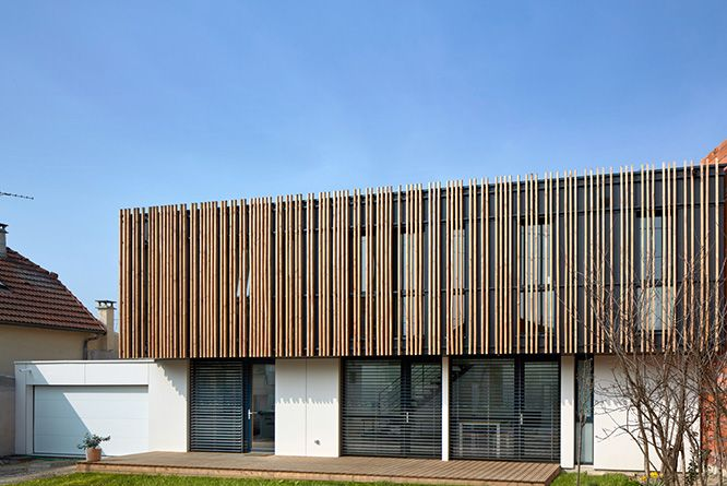 Maison bois construction maison ossature bois for Constructeur maison architecte