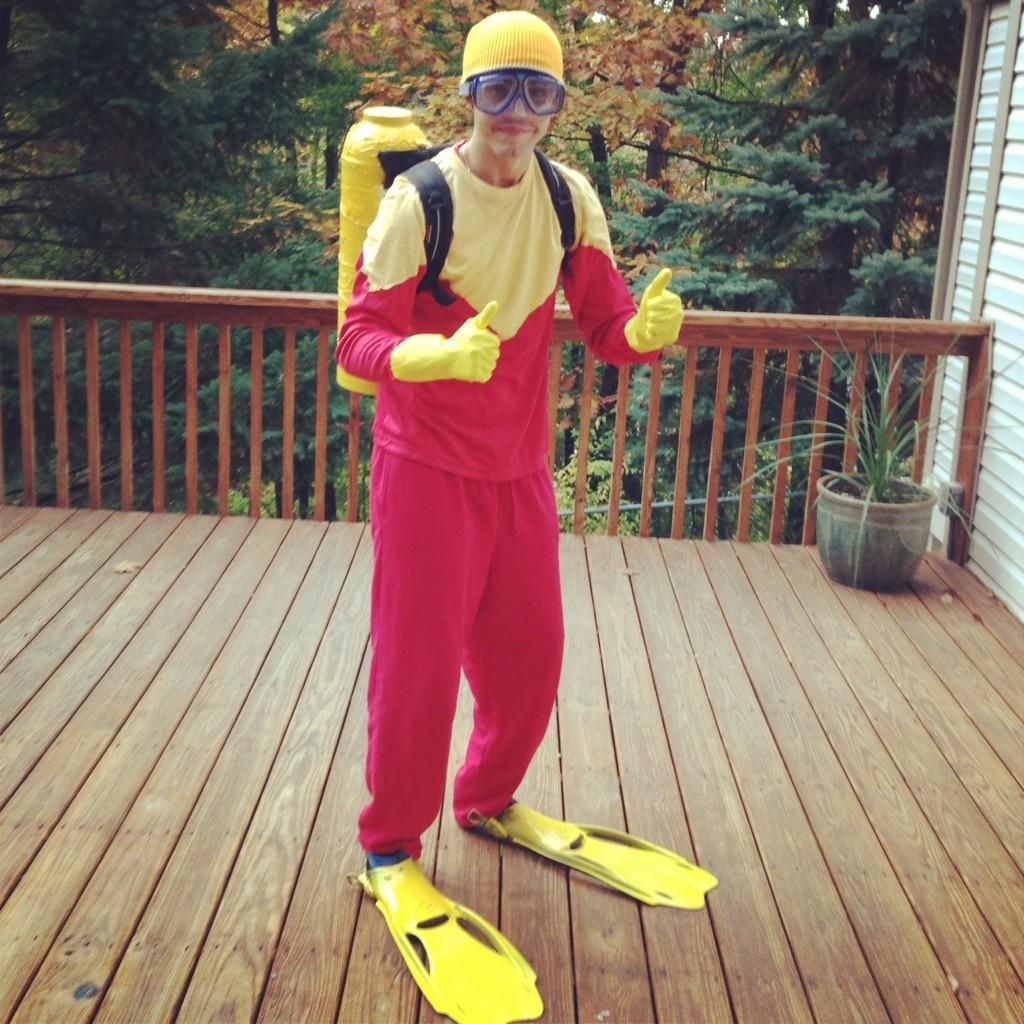 scuba steve costume Google Search in 2019 Steve